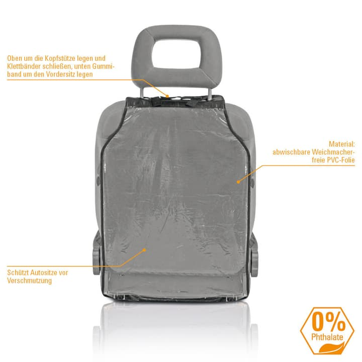 Diago Protection de dossier aluminium Protection de siège 620828000000 Photo no. 1