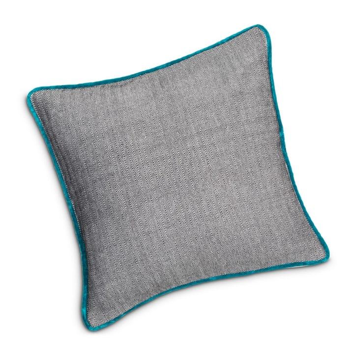 ZAK Coussin décoratif 378180840865 Couleur Pétrole Dimensions L: 45.0 cm x H: 45.0 cm Photo no. 1