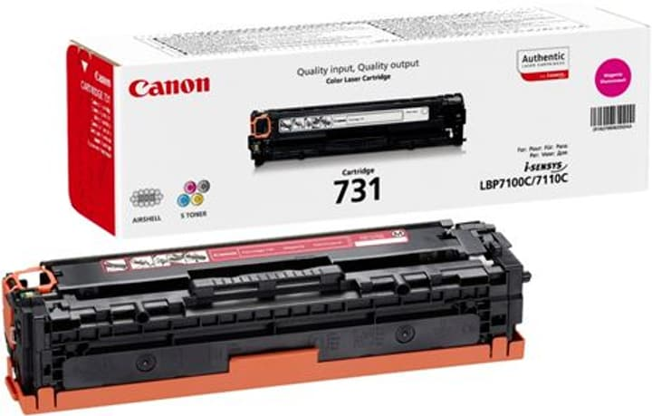 Toner 731 magenta 6270B002 Canon 798520900000 Photo no. 1