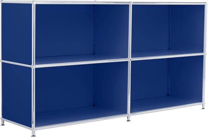 FLEXCUBE Buffet 401808900040 Dimensions L: 152.0 cm x P: 40.0 cm x H: 80.5 cm Couleur Bleu Photo no. 1