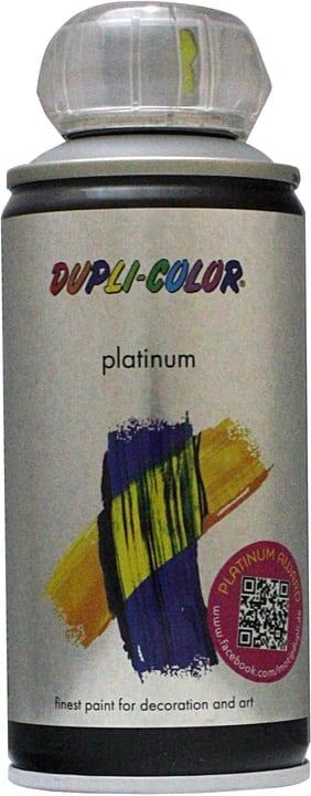 Vernice spray Platinum opaco Dupli-Color 660826500000 Colore Grigio Argento Contenuto 150.0 ml N. figura 1