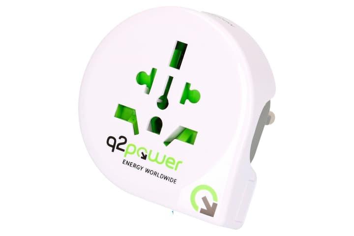 Q2Power Reiseadapter Welt nach Europa (Schuko) 612152800000 Bild Nr. 1
