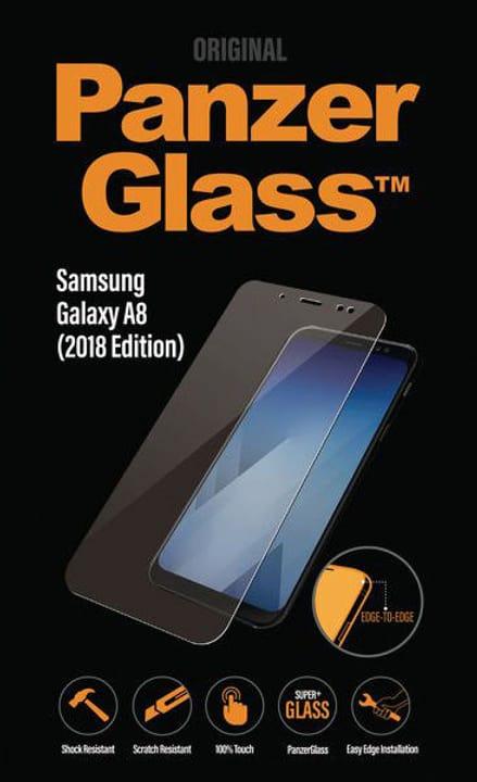 Clear Samsung Galaxy A8 (2018) Schutzfolie Panzerglass 785300134562 Bild Nr. 1