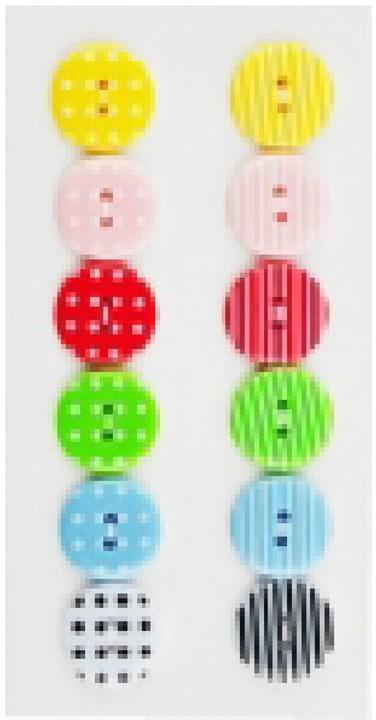 pulsante di plastica Rico Design 665464300000 N. figura 1