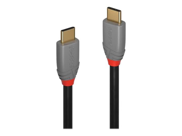 USB 3.1 Typ C Cavo, 5A PD, Anthra Line 1m Cavo LINDY 785300141595 N. figura 1