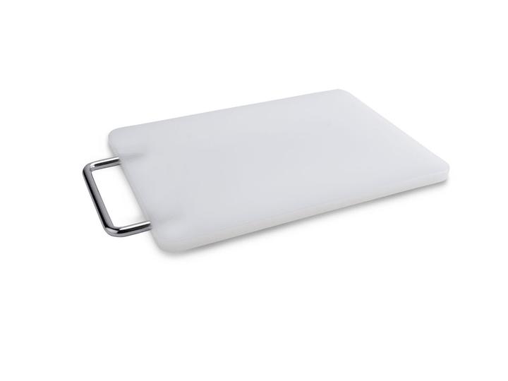 CUTTING Planche à decouper 393002931903 Dimensions L: 25.4 cm x P: 15.0 cm x H: 1.2 cm Couleur Blanc Photo no. 1