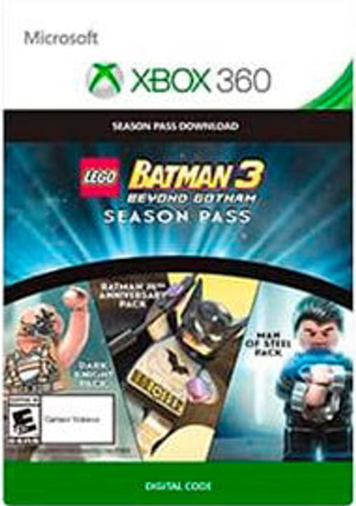 Xbox 360 -Lego Batman 3 Season Pass 785300135596 Photo no. 1