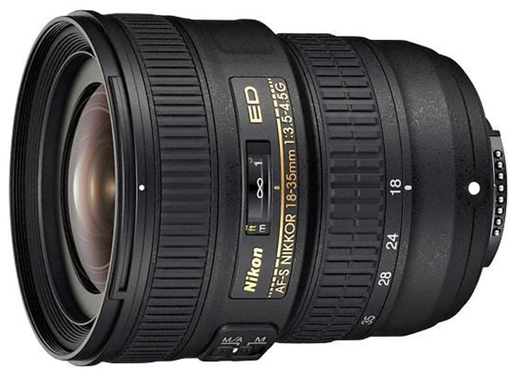 Nikkor AF-S 18-35mm/3.5-4.5G ED Objectif Nikon 785300125543 Photo no. 1