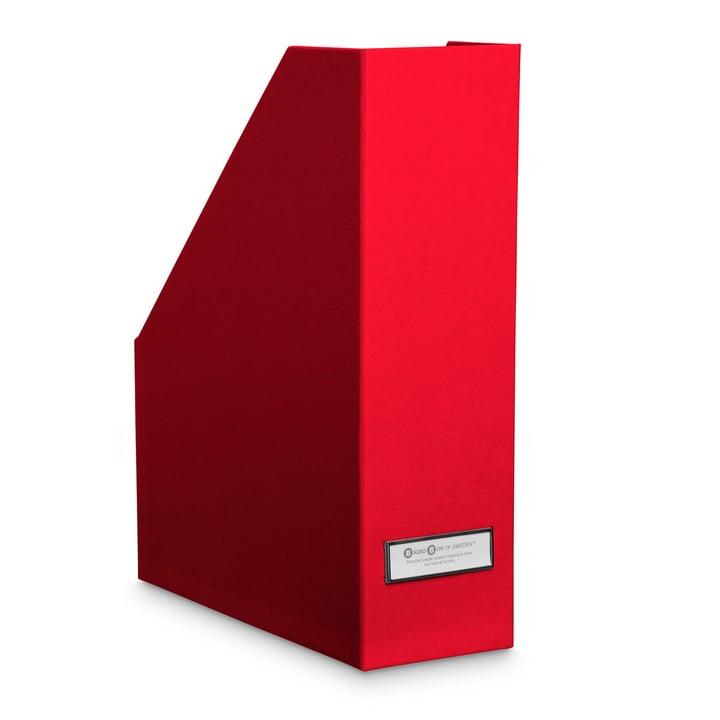 BIGSO CLASSIC Porte-journaux 386257700000 Dimensions L: 25.0 cm x P: 10.0 cm x H: 32.5 cm Couleur Rouge Photo no. 1