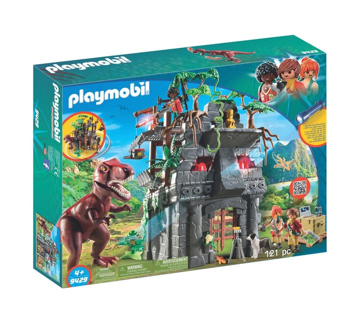Playmobil Campement avec tyrannosaure 9429 746097600000 Photo no. 1