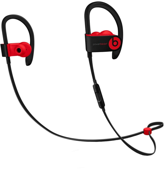 Powerbeats 3, Defiant Black-Red casque In-Ear Beats By Dr. Dre 785300136817 Photo no. 1