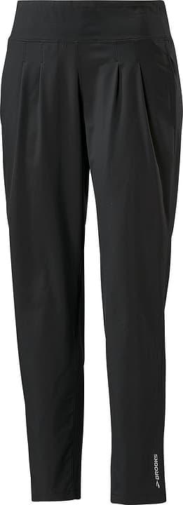 CHASER PANT Pantalon pour femme Brooks 470153500320 Couleur noir Taille S Photo no. 1