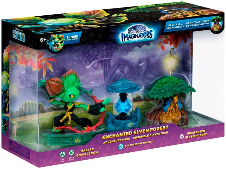 Skylanders Imaginators - Adventure Pack 2 (Boom Boom, Air, Treehouse) 785300121893 Photo no. 1