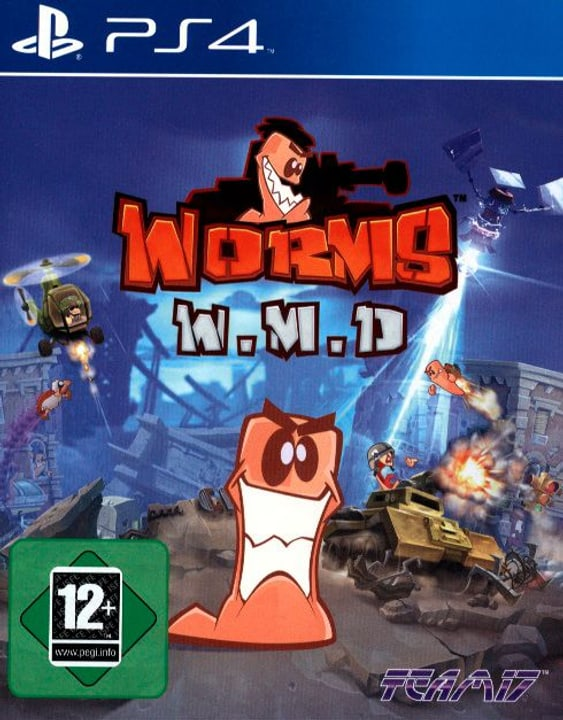 PS4 - Worms Weapons of Mass Destruction Box 785300121021 Photo no. 1