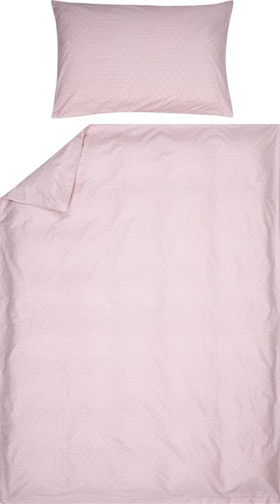 ELIOTTA Fourre de duvet en percale 451194112338 Couleur Rose Dimensions L: 160.0 cm x H: 210.0 cm Photo no. 1