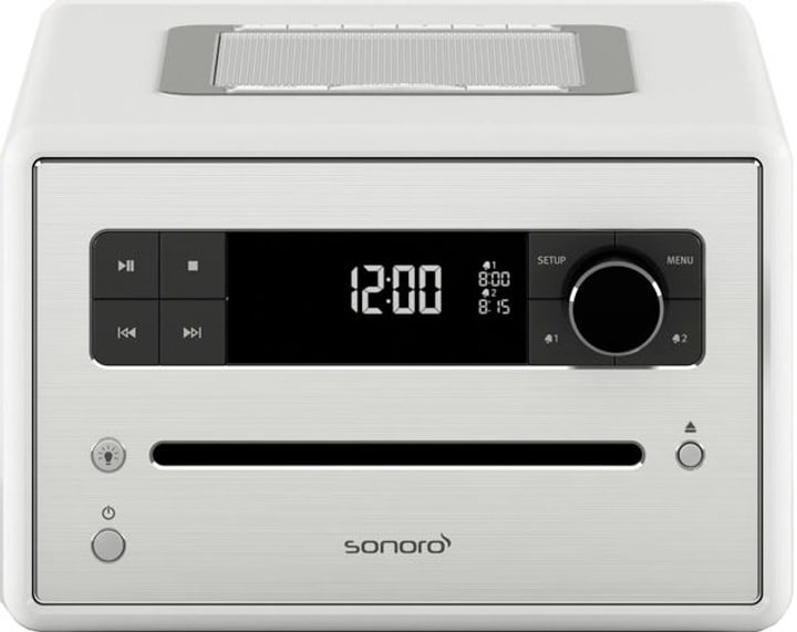 CD2 - Blanc Chaînes HiFi compactes Sonoro 772144000000 Photo no. 1