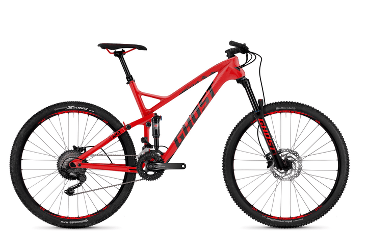 "SLAMR 3.7 27.5"" VTT all mountain Ghost 464806100530 Tailles du cadre L Couleur rouge Photo no. 1"