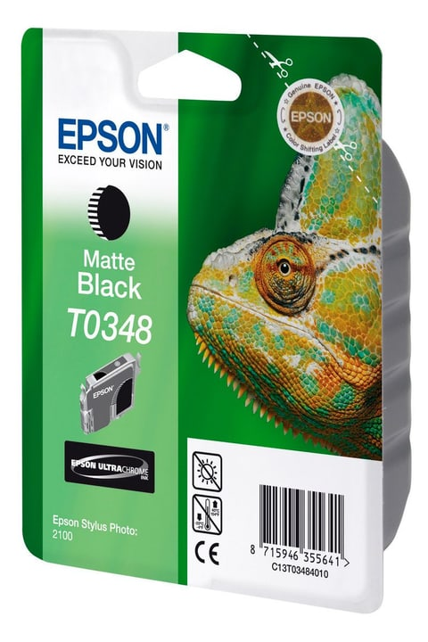 T034840 matt black Epson 797583400000 Photo no. 1