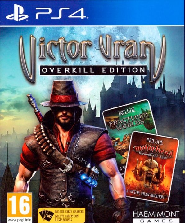 PS4 - Victor Vran Overkill Edition Physique (Box) 785300122339 Photo no. 1