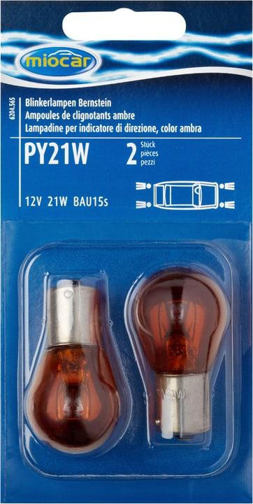 Ampoule PY21W, ambre, feu clignotant Miocar 620456500000 Photo no. 1