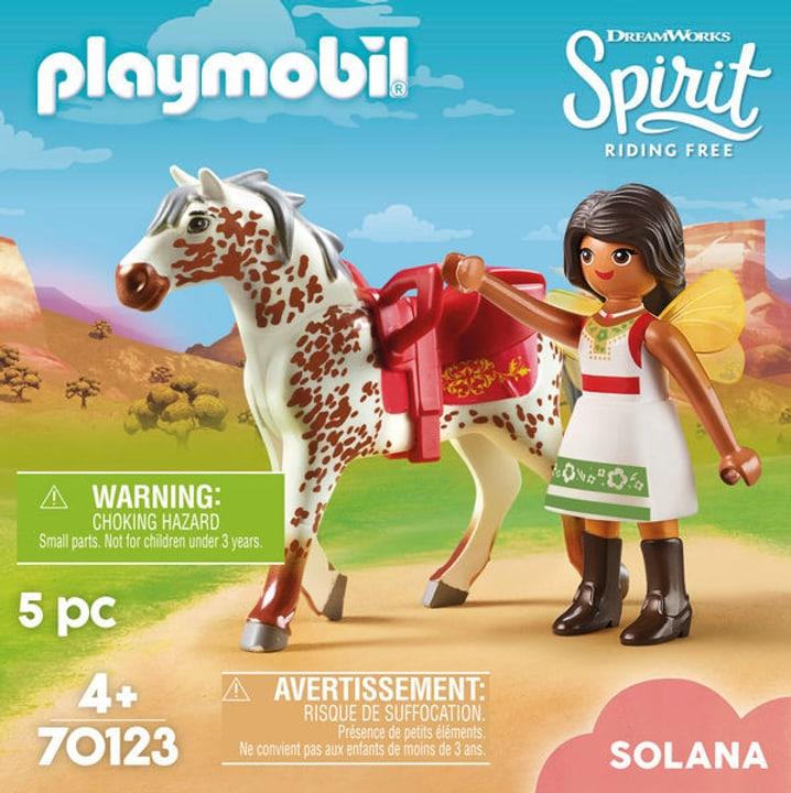 PLAYMOBIL 70123 Solana con cavallo 748015200000 N. figura 1