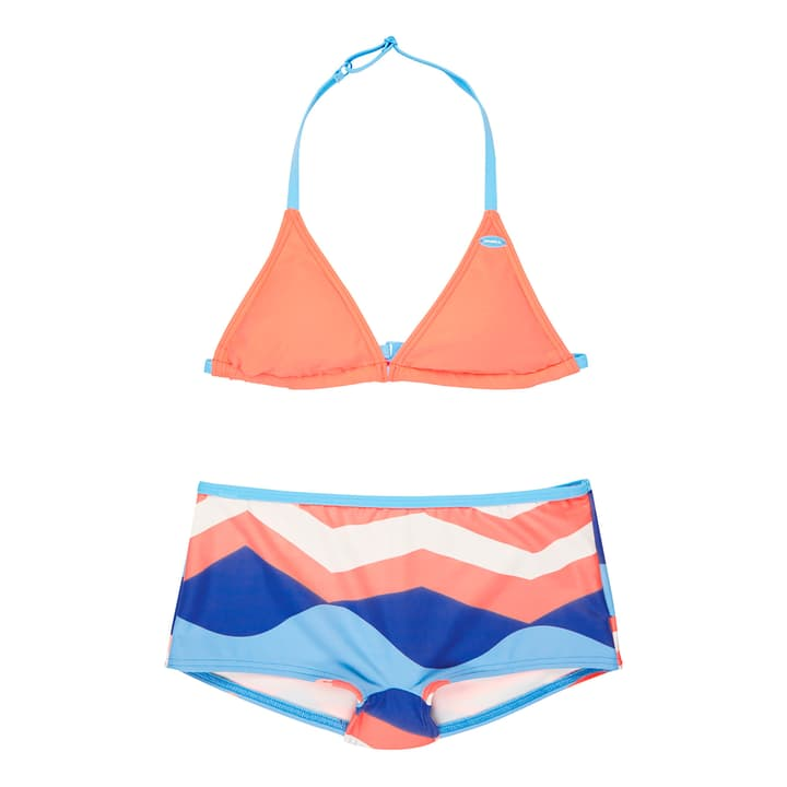 SHELVA SHORTY BIKINI Bikini da bambina O'Neill 466916416457 Colore corallo Taglie 164 N. figura 1