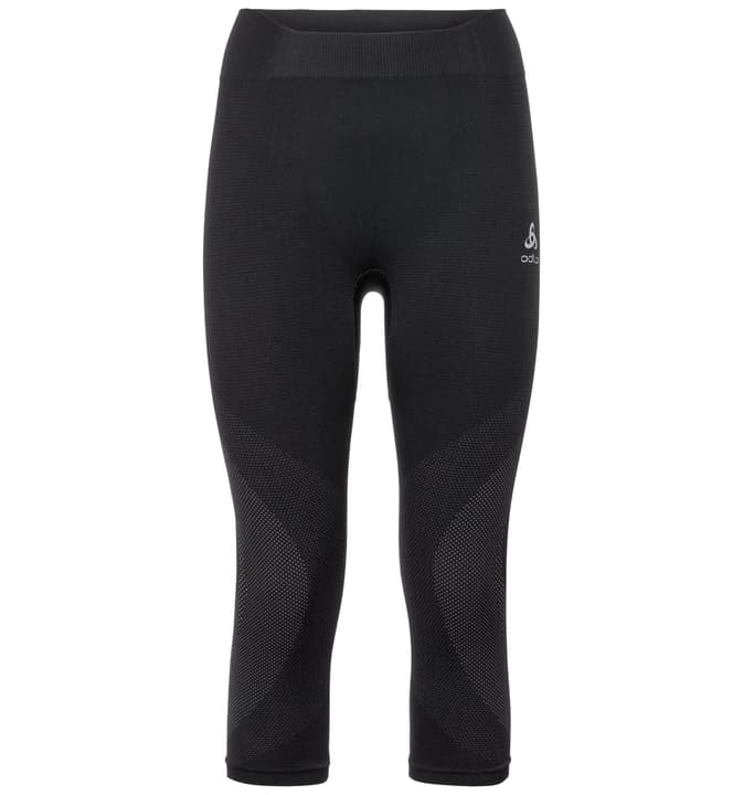 Performance Warm Pantalone 3/4 da donna Odlo 477077600220 Colore nero Taglie XS N. figura 1