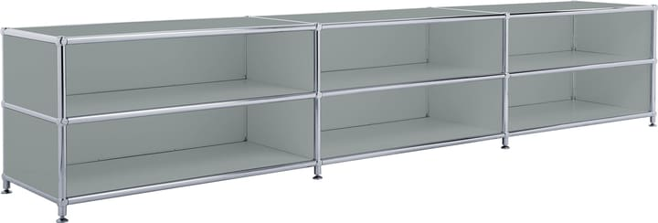 FLEXCUBE Buffet bas 401813730180 Dimensions L: 227.0 cm x P: 40.0 cm x H: 44.5 cm Couleur Gris Photo no. 1