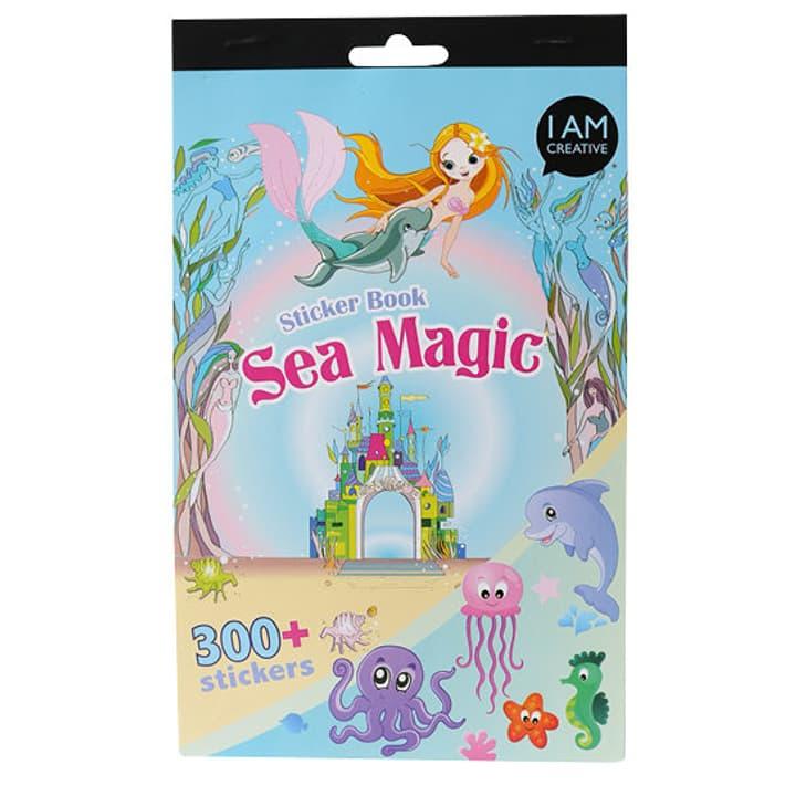 Stickerbook, Sea I AM CREATIVE 666204700000 N. figura 1