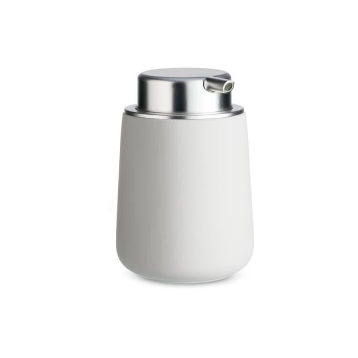 ZONE distributeur de savon 374140900381 Dimensions H: 14.0 cm Couleur Gris clair Photo no. 1