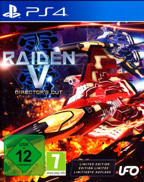 PS4 - Raiden V: Director's Cut - Limited Edition D 785300130308 Photo no. 1