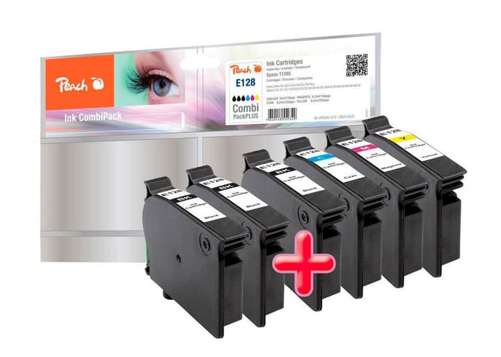 Combi PackPLUS T128 Cartuccia d'inchiostro Peach 785300124657 N. figura 1