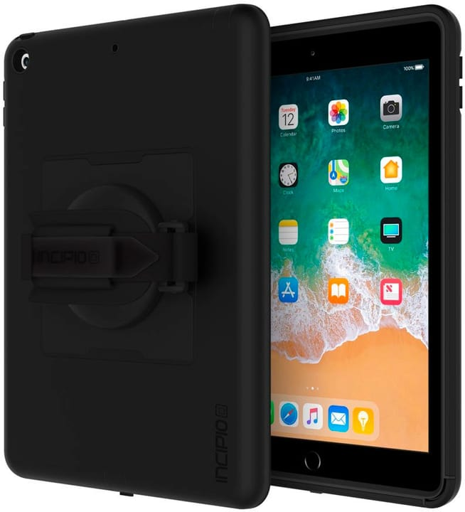 "Capture Rugged Case with Handstrap for Apple iPad 9.7"" black Incipio 785300137125 Photo no. 1"