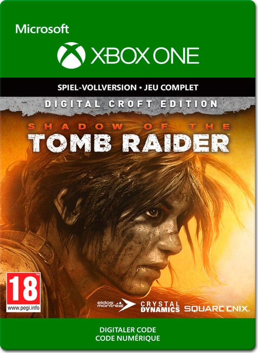 Xbox One - Shadow of the Tomb Raider Croft Edition Download (ESD) 785300140338 Photo no. 1