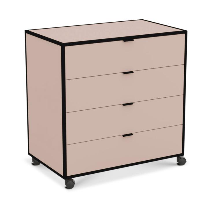 SEVEN Cassettiera 364185700038 Dimensioni L: 86.0 cm x P: 52.0 cm x A: 87.0 cm Colore Rosa N. figura 1