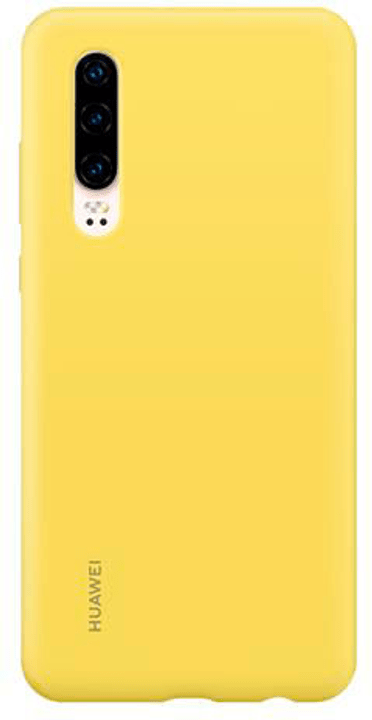 Hard-Cover Silicone Case yellow Hülle Huawei 785300145944 Bild Nr. 1