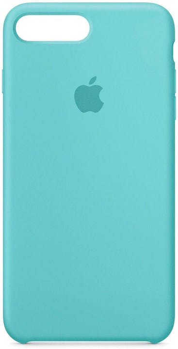 iPhone 7 Plus Custodia in silicone - Azzurro mare Apple 785300126855 N. figura 1