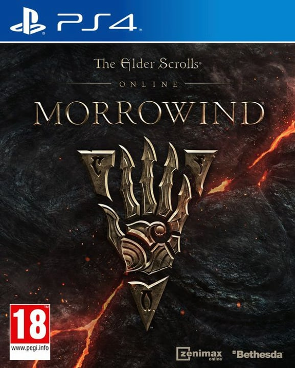PS4 - The Elder Scrolls Online - Morrowind Box 785300122136 Photo no. 1