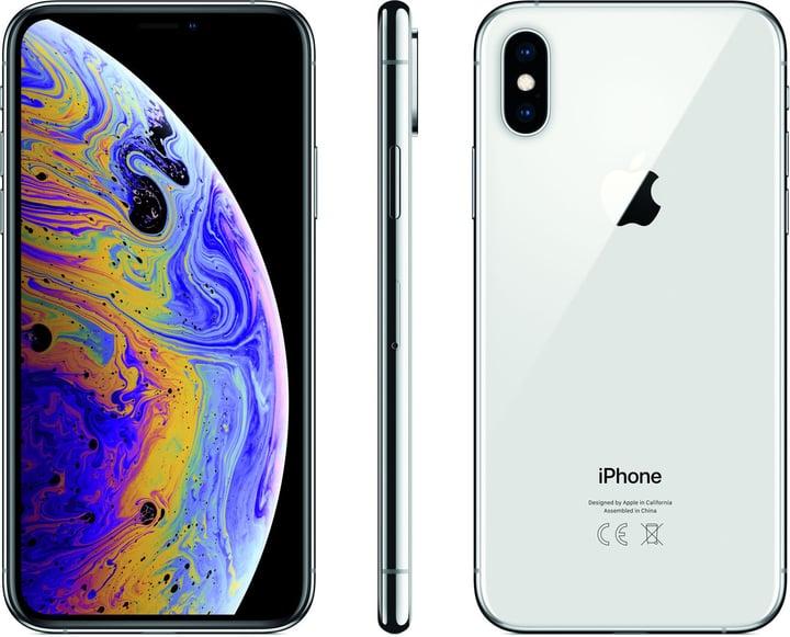 iPhone Xs 256GB Silver Smartphone Apple 794632500000 Bild Nr. 1