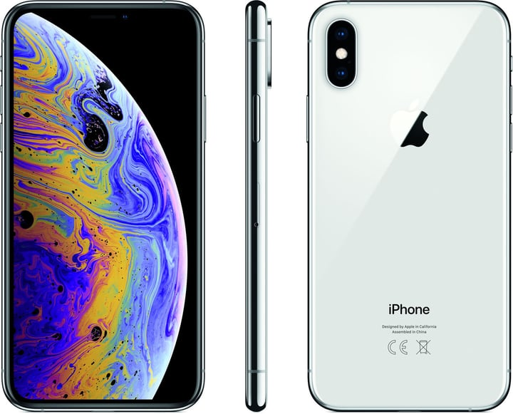Apple iPhone Xs 64Gb Silver Smartphone