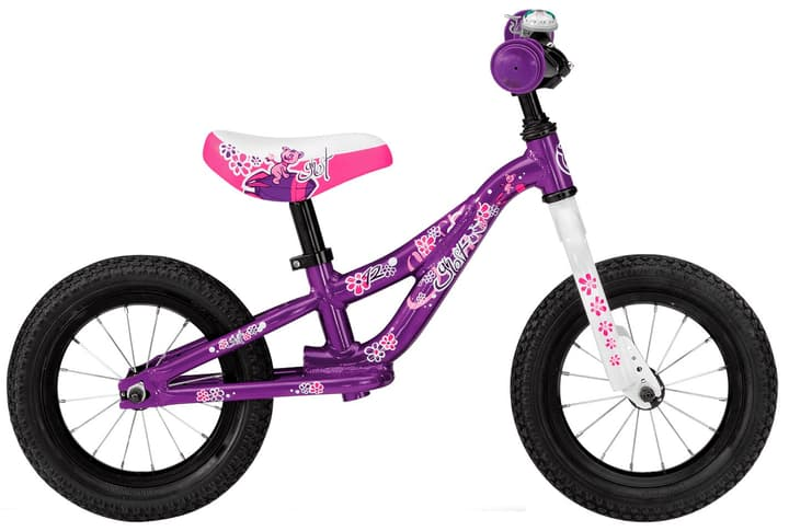 "Powerkiddy 12"" Laufrad Ghost 464818400045 Rahmengrösse one size Farbe violett Bild Nr. 1"