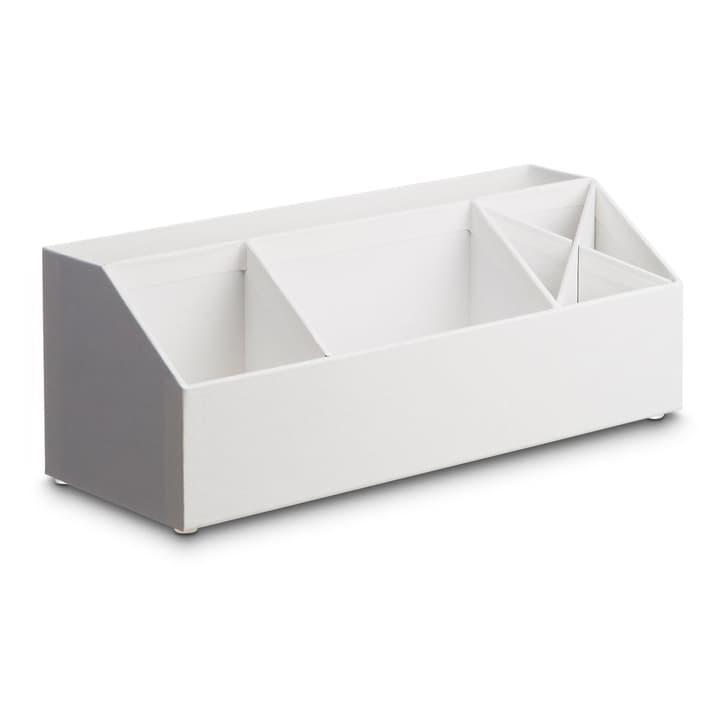 BIGSO CLASSIC Tischorganiser 386195800000 Grösse B: 12.5 cm x T: 33.0 cm x H: 12.5 cm Farbe Weiss Bild Nr. 1