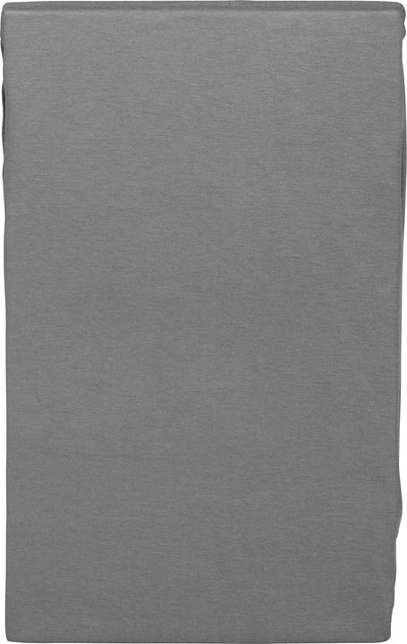 EVAN Drap-housse en jersey stretch 451044130585 Couleur Gris foncé Dimensions L: 180.0 cm x H: 200.0 cm Photo no. 1