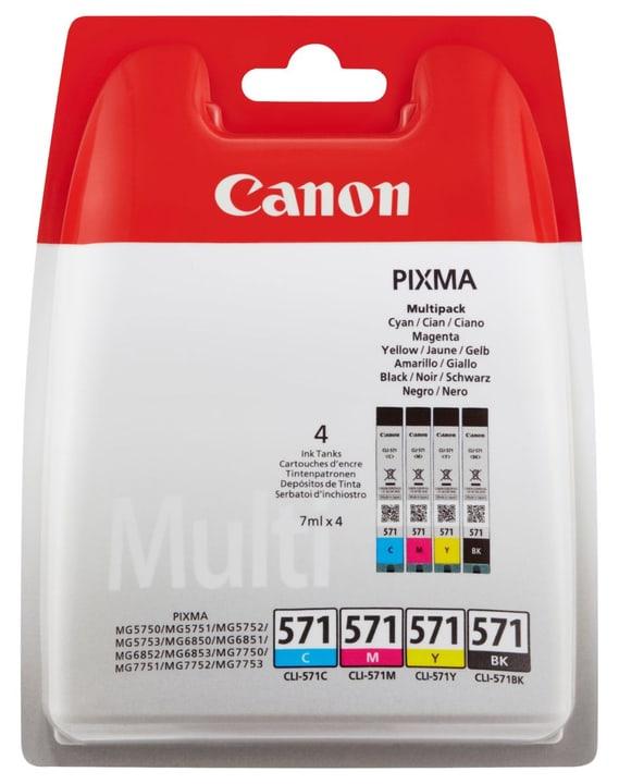 CLI-571 Multipack  BKCMY Cartouche d'encre Canon 795845700000 Photo no. 1