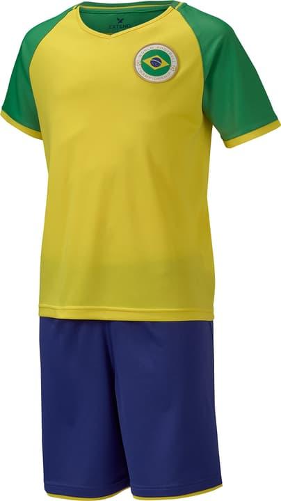 Set de supporter de foot pour enfants Brésil Extend 464546509950 Couleur jaune Taille 98/104 Photo no. 1