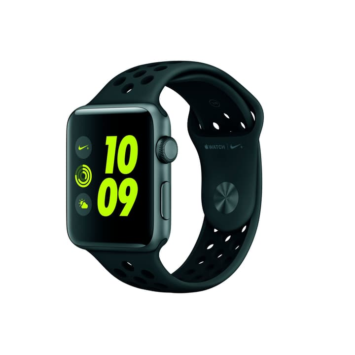 Watch Nike+ 42mm Alu Gray Sport Band Anthracite/Black Apple 798181200000 Photo no. 1