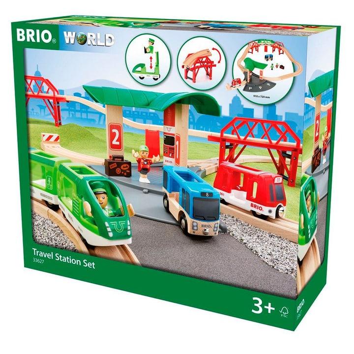 Brio Reisezug Set Mit Busbahnhof 746489300000 N. figura 1