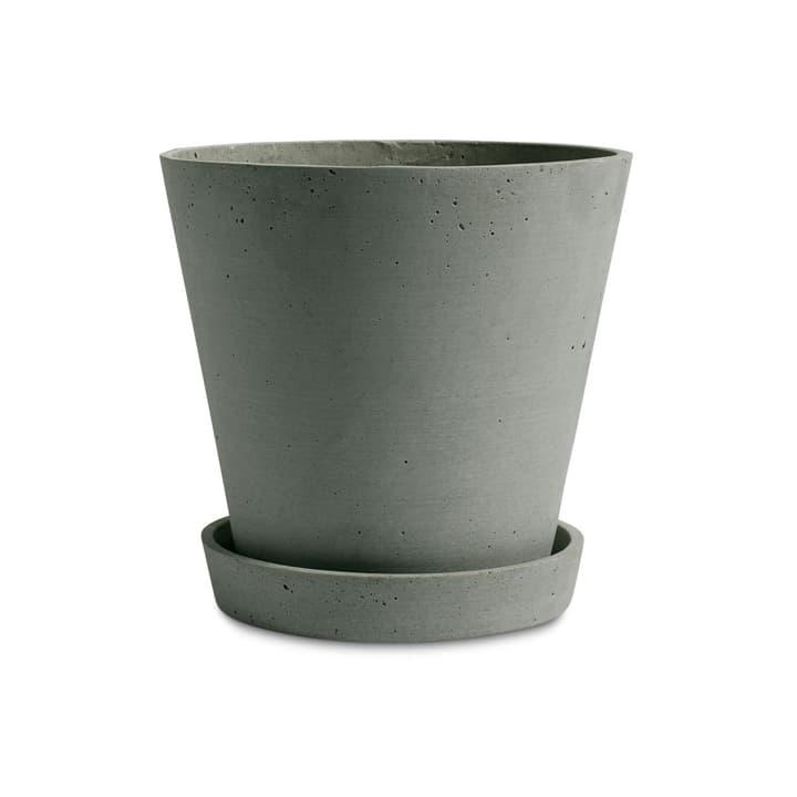 FLOWER POT / XL Cache-pot HAY 382076100000 Dimensions H: 20.0 cm Couleur Vert Photo no. 1