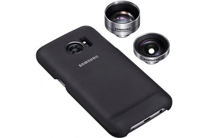 Lens Cover S7 Edge noir Samsung 798079400000 Photo no. 1