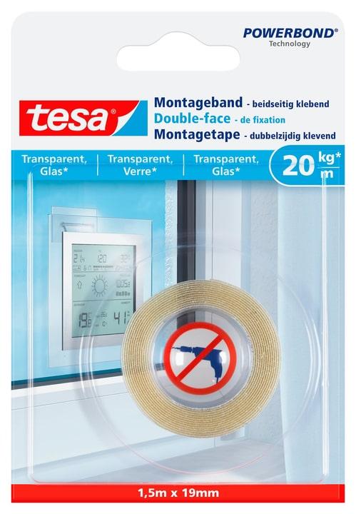 Montageband transparent, Glas Tesa 675227600000 Bild Nr. 1